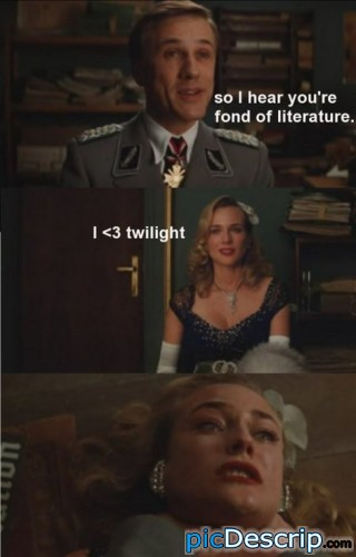 picDescrip.com - Movies - The Inglorious Bastards meets Twilight