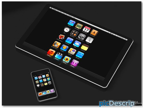 picDescrip.com - WTF?! - iPod, meet the iPad.... making millions off the change of one vowel...