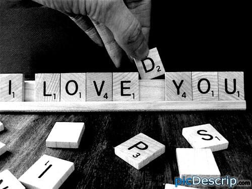 picDescrip.com - Photography and Art - Scrabble = art.
