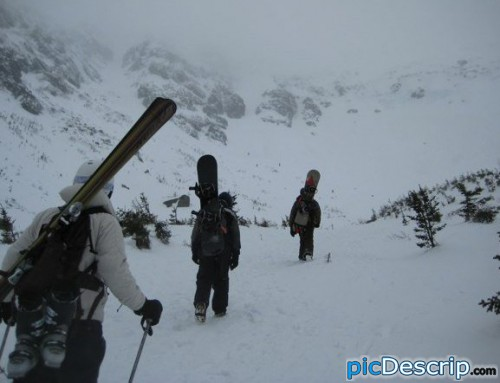 picDescrip.com - Sports - tuckermans ravine: mt washington