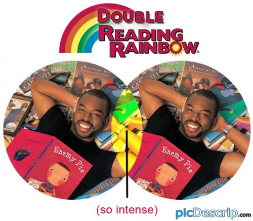 picDescrip.com - Parody - It's a double rainbow.
