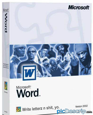 picDescrip.com - Parody - Microsoft WORD!!!!