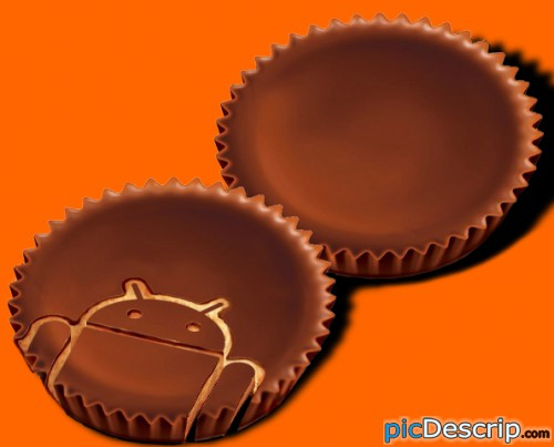 picDescrip.com - Technology - The real way to eat a Reese's!