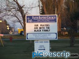 picDescrip.com - WTF?! - damn racist church