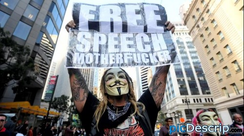picDescrip.com - Politics - Freedom of Speech